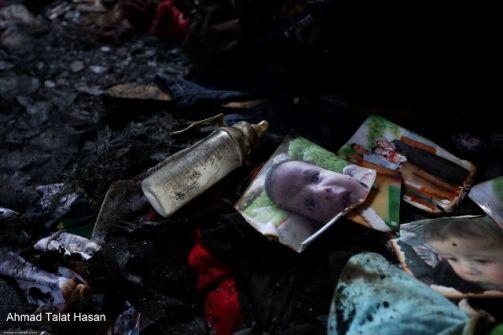 نابلس: اقتحام دوما ومستوطن يمثل جريمة حرق عائلة دوابشة