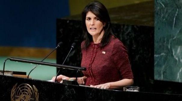هيلي للدول العربية: قولوا للفلسطينيين 'إنهم يتصرفون بغباء '