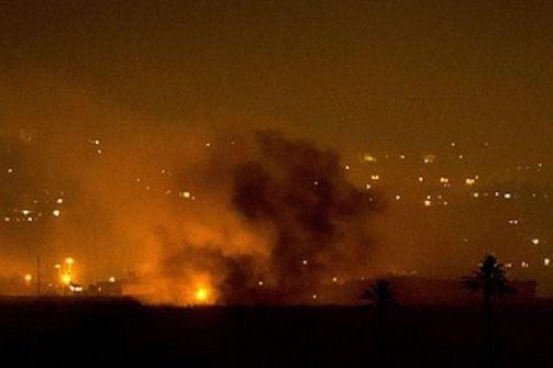 رغم التهدئة- الطيران الاسرائيلي يقصف غزة
