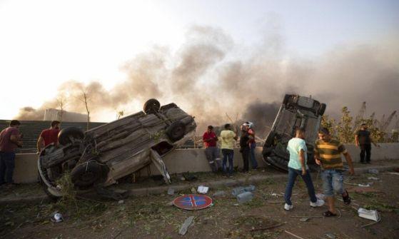 'بيروت مدينة منكوبة': قتلى وجرحى في انفجار هائل