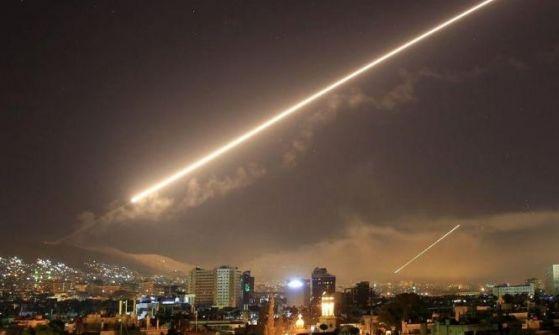 هجوم صاروخي إسرائيلي يستهدف منطقة حماة السورية