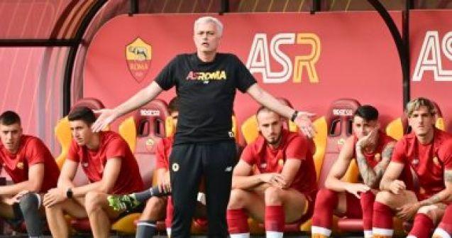 مورينيو يقود روما للفوز 10- صفر فى أولى مبارياته الودية