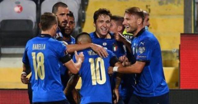 إيطاليا تستضيف ليتوانيا الليلة فى مواجهة سهلة بتصفيات كأس العالم