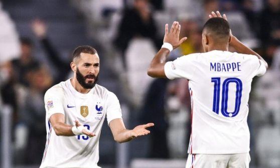 فرنسا تقلب الطاولة على بلجيكا وتتأهل لنهائي دوري أوروبا للأمم