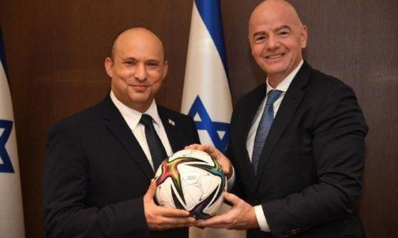 رفض فلسطينيّ لاستقباله: رئيس الفيفا يقترح استضافة إسرائيل والإمارات للمونديال
