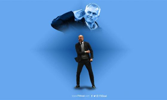 جوارديولا يفشل في معادلة سجل مورينيو بالدوري الإنجليزي
