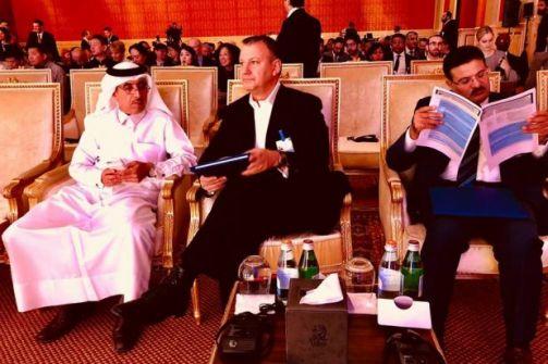نائب إسرائيلي سابق يشارك في مؤتمر اقتصادي في الدوحة