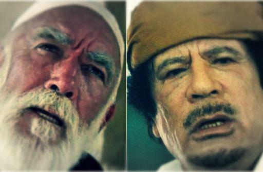 قصة خلاف وقع بين القذافي وأنطوني كوين: «أنا الطفل الذي حمل نظارة عمر المختار في الفيلم»