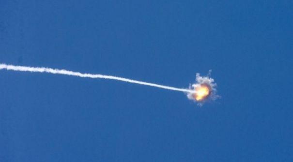 سقوط صاروخ أطلق من غزة في جنوب إسرائيل