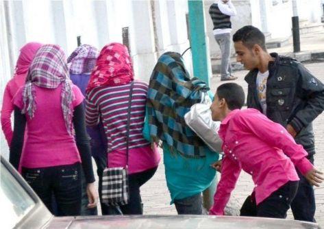 أول أيام العيد: 340 حالة (تحرش) في القاهرة