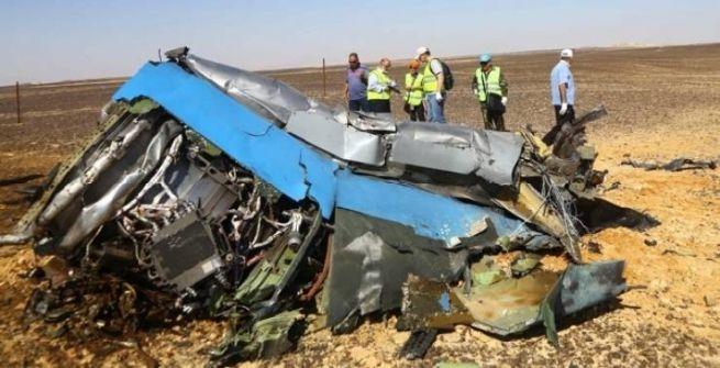 هل تسبب كائن فضائي في تحطم الطائرة الروسية ؟