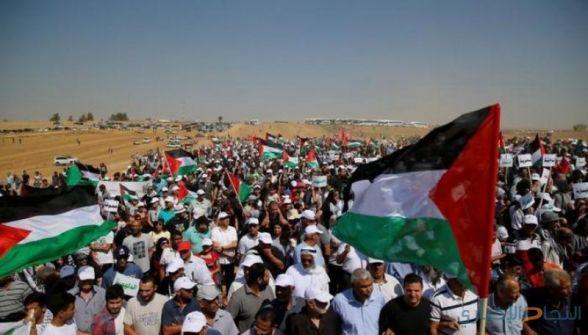 حركة المبادرة الوطنية تطالب بوقف الاعتداءات على المتظاهرين السلميين في قطاع غزة والسماح بحرية التظاهر والتعبير