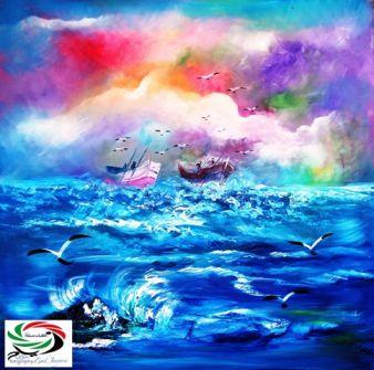 فضاءات الفنانة عالمة العبداللات... بقلم وعدسة: زياد جيوسي