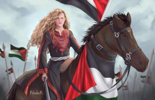 عهد التميمي ليست فلسطينية ....شوقية عروق منصور