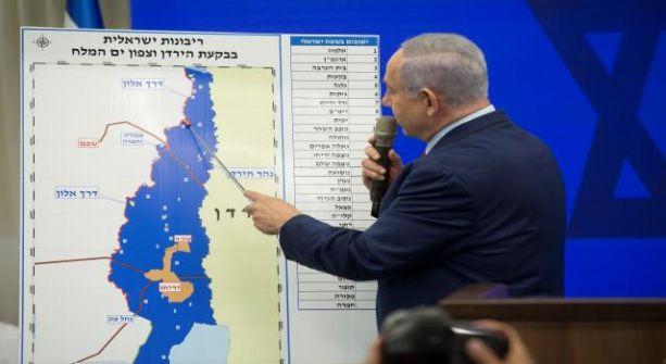 نتنياهو: حان الوقت لفرض السيادة الإسرائيلية على غور الأردن وشرعنة المستوطنات