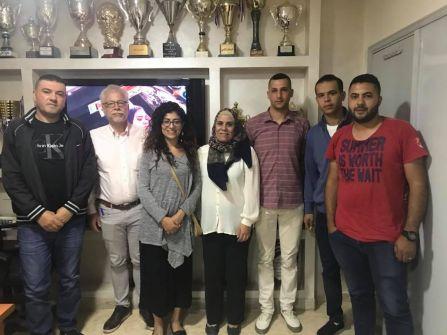لقاء بالجلزون لمناقشة مدى رضا المواطن الفلسطيني على نظام العدالة الجنائية