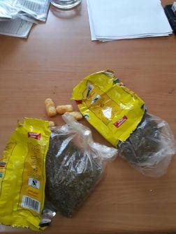 سابقة| أكياس 'الشبس' أداة جديدة لتهريب المخدرات