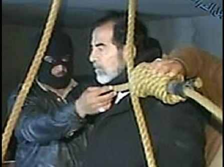 صدام حسين رفض تناول وجبة الطعام الأخيرة قبل تنفيذ حكم الاعدام بحقه