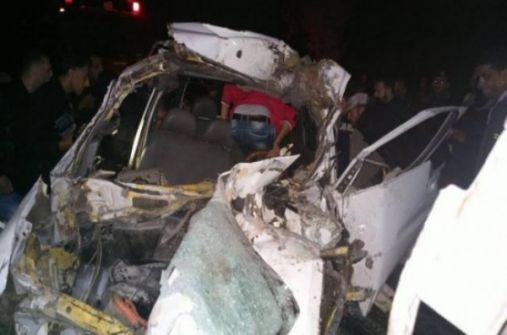 مصرع شابين وإصابة آخرين بحادث مروع جنوب نابلس