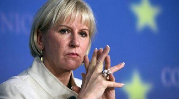 وزيرة خارجية السويديّة تغير موقفها: لإسرائيل الحق في الدفاع عن نفسها ..وترفض المقاطعة