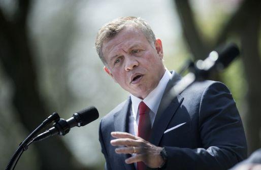 عاهل الأردن يبحث بواشنطن تحريك عملية السلام
