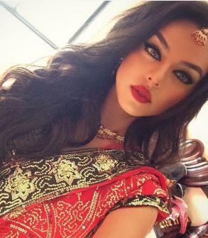 صور: 'سالسابيلا' .. فتاة أردنيّة جمالُها ينافس نجمات هوليوود