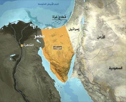 هارتس : نتنياهو عرض اعطاء مناطق من شمال سيناء لغزة مقابل ضم مستوطنات الضفة لاسرائيل