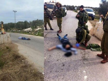 جيش الاحتلال يعدم شاب فلسطيني بدعوى محاولته طعن جنود قرب جنين