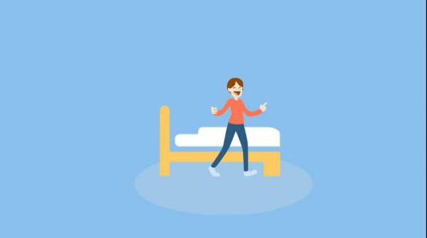شاهد.. فيديو توضيحي يحذر من استخدام الجوال قبل النوم