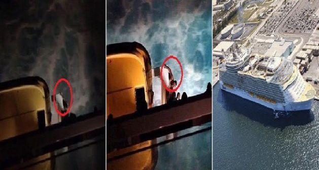 فيديو مروع.. لحظة سقوط راكب برازيلي من سفينة ضخمة بالكاريبي