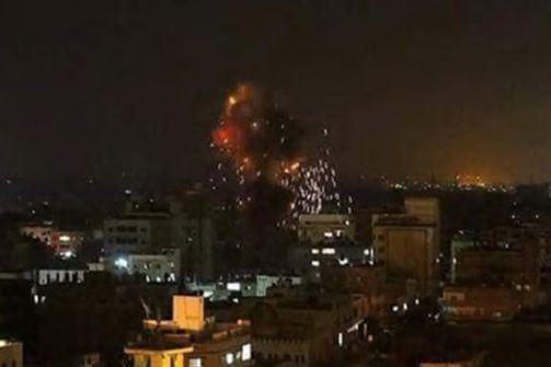 عدوان اسرائيلي على غزة والجيش يعلن قصف 10 مواقع