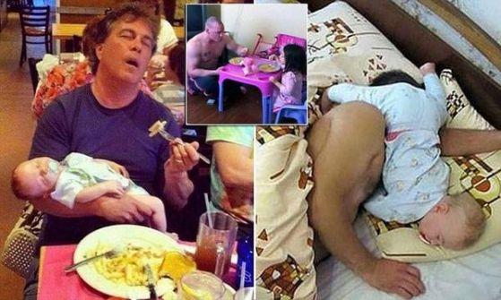 بالصور.. شاهد واختبر قدراتك على أن تكون أبًا