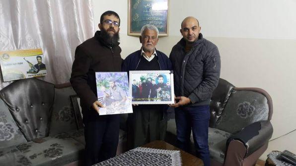 في الذكرى الـ15 لاعتقاله  القيادي خضر عدنان يزور عائلة الأسير إسماعيل أبو شادوف