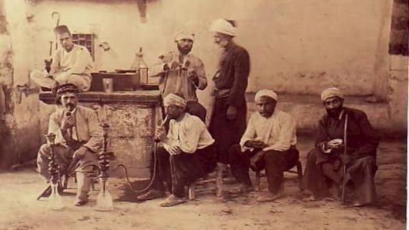 حكاية من المقهى....محمد صالح ياسين الجبوري