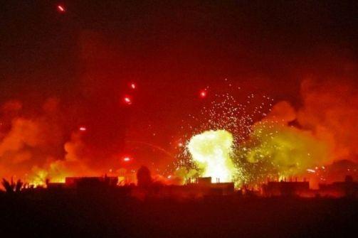 قبل يوم من مغادرته الحكم .. ترامب يقصف العراق