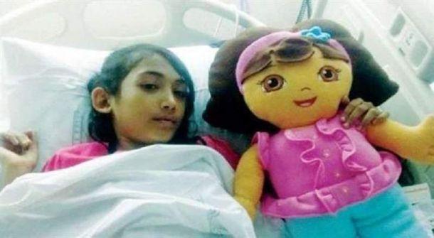 عمر طفلة سعودية أصيبت بالإيدز يحرمها من تعويض 50 مليون ريال !