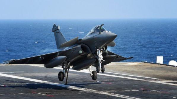 فيديو.. فقدان طائرة فرنسية يمكنها تنفيذ هجوم نووي