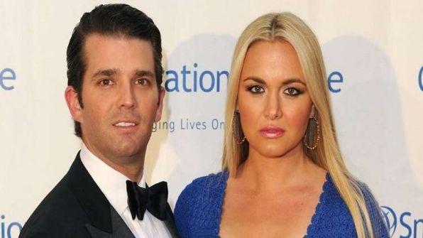 بعد 12 سنة من الزواج.. زوجة ابن ترامب تطلب الطلاق