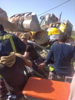 مصرع شقيقين في حادث سير جنوب شرق جنبن