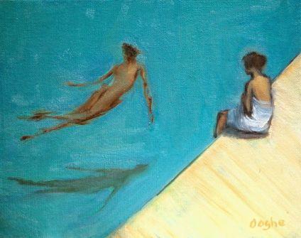 'المسبح اليتيم ' لجون آبدايك ... ترجمة : علي الجمال