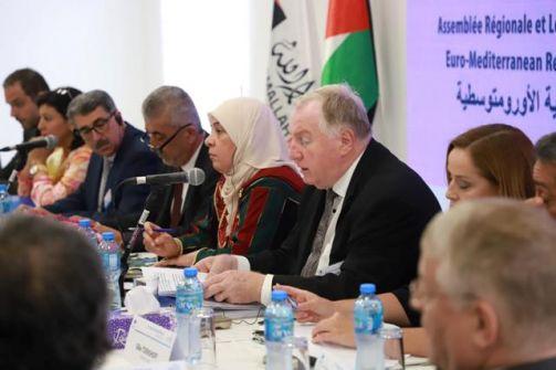 أبرز ما جاء في اجتماع قادة المجالس المحلية من الاتحاد الأوروبي ودول المتوسط في رام الله  لمناقشة التعاون في سياق التنمية المستدامة