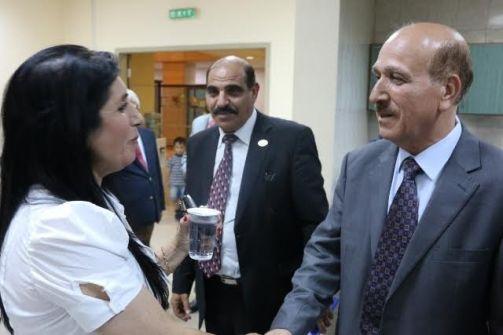 حفل توقيع ديوان (أدموزك وتتعشترين) في المكتبة الوطنية- عمان! آمال عوّاد رضوان