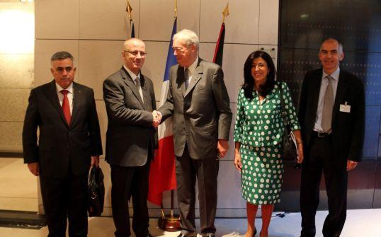 الحمد الله: الدعم الفرنسي لفلسطين وتعزيز الشراكة الاقتصادية استثمار في الديمقراطية والسلام في المنطقة باكملها