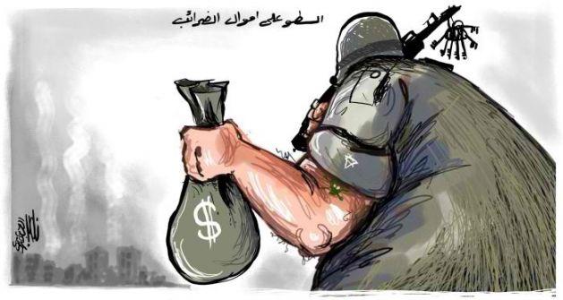 اسرائيل ستسطو على' 504 ' ملايين شيكل  من الفلسطينيين كل عام :كحلون يوقع على قرار بخصم 42 مليون شيكل شهريا من أموال المقاصة