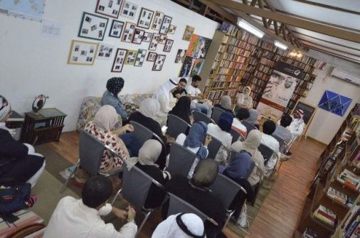 السينما والرواية والقراءة  فعاليات مشروع تكوين مع طارق الخواجي