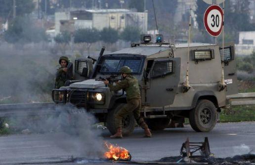 إصابات خلال اقتحام مدينة رام الله