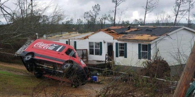 14 قتيلا جراء الأعاصير في ولاية ألاباما الأمريكية