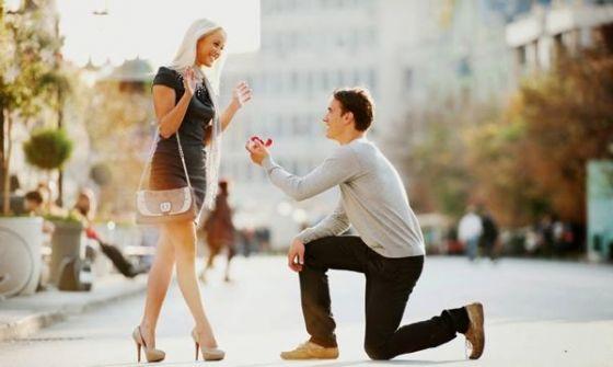 هذا هو معدل ضربات قلب الرجل حين يقوم بالتقدم بعرض الزواج