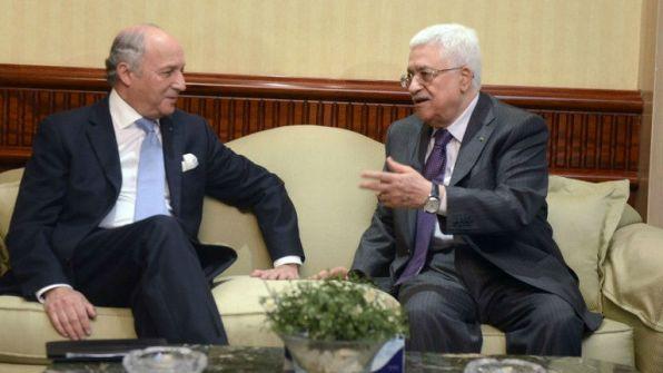 بعد لقاء الرئيس عباس ..فابيوس: أفكارنا لقيت دعما من الفلسطينيين