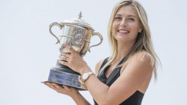 ماريا شارابوفا تودع كرة المضرب وتتطلع لـ'تسلق جبال الحياة'